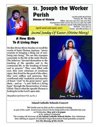 Second Sunday Of Easter (Divine Mercy)